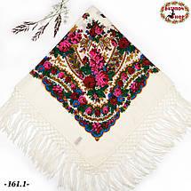 Настоящий белый платок шерстяной Украинский, фото 3