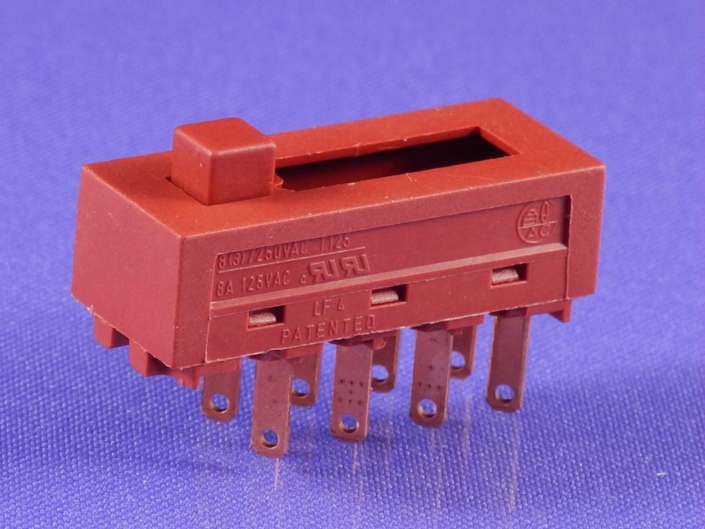 Кнопка фена 4-х позиционная (3A 250V) (6A 125V)