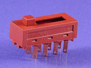 Кнопка фена 4-х позиционная (3A 250V) (6A 125V), фото 2