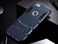 Чехол Apple Iphone 6 Plus / 6S Plus Hybrid Armored Case темно-синий