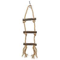 Веревочная лестница для попугаев