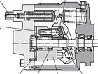 Аксіально-поршневий насос розімкнутого контуру Daikin J-V, фото 4