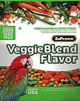ZuPreem AvianMaintenance VeggieBlend Премиум д      ля средних и крупных  птиц 1,6 кг, фото 1