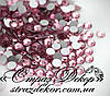 Стразы ss6 без клея Light Rose (светло-розовые) (100шт.) холодной фиксации