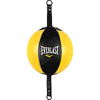 Боксерская груша на растяжке Everlast Leather Double-End Bag