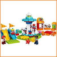 Конструктор Лего Дупло Семейный парк аттракционов Lego Duplo 10841