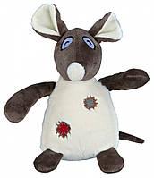 Игрушка Trixie Rat для собак плюшевая, с пищалкой, 16 см