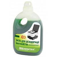 Средство для дезодорации биотуалетов КЕМПІНГ (для верхнего бака) 1 л