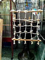 Веревочная сеть для попугая XL, фото 1