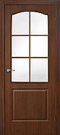 Межкомнатные двери Омис Классика ПВХ СС (орех)