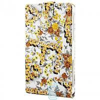 Чехол-флип XXXL для планшетов 7.0″ №4 желтые цветы