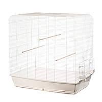 INTERZOO Клетка для птиц - 78*48*79 см. SAGA WHITE
