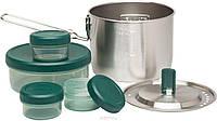 Набор посуды Adventure: стальная кастрюля 0.95 Л + контейнеры