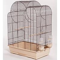 Клетка для попугая ELIZA - белая 540*340*750, фото 1
