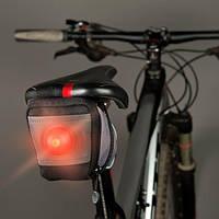 Сумка вилосипедная з світлодіодом Nite Ize Saddle Lite Bike bag Seat