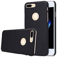 "Чехол Nillkin Frosted для Apple iPhone 7 plus (5.5"") черный (+пленка)"