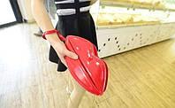 Красная сумка-губы для девочки,кроссбоди