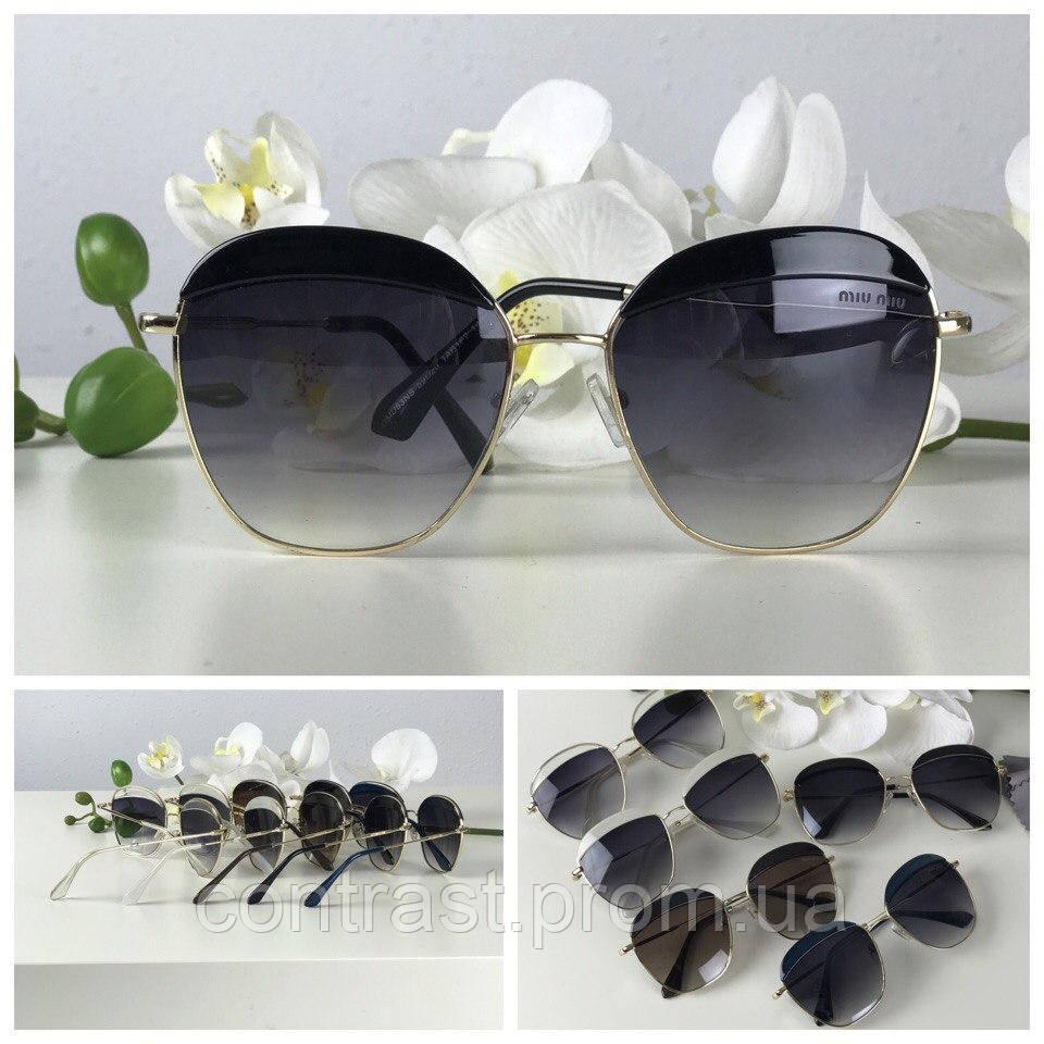 Роскошные очки-оверсайз экстравагантной формы pantos (черная линза, черный декор)