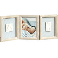 Рамка с отпечатками Baby Art My Baby Touch Wooden Double Frame Stormy