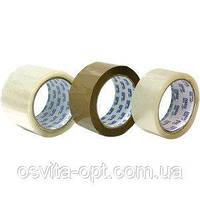 Стрічка клейка пакувальна 48 мм х 200 м Economix, прозора