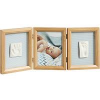 Рамка с отпечатками Baby Art My Baby Touch Wooden Double Frame Honey