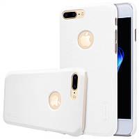 "Чехол Nillkin Frosted для Apple iPhone 7 plus (5.5"") белый (+пленка)"