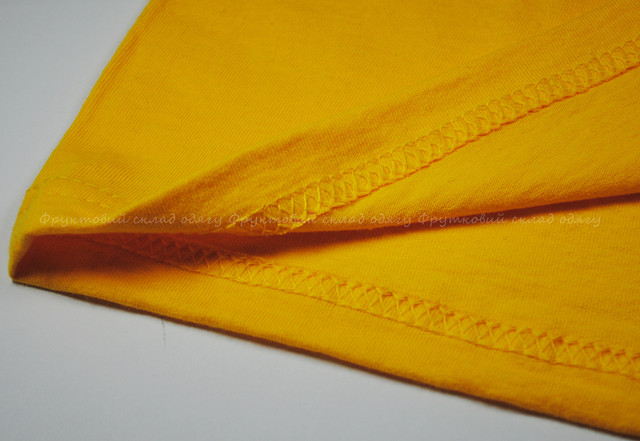 Солнечно-жёлтая детская мягкая футболка для мальчиков