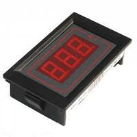 Амперметр цифровой PDM 5035DCA 0-10A (трех разрядный, красный, в корпусе)