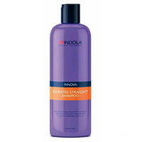 Шампунь для выравнивания волос 300ml.Indola Innova Keratin stright