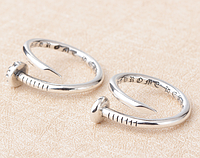 Женское серебряное кольцо Кельтский Крест Гвоздь Chrome Hearts