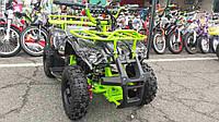 Электрический квадроцикл VIРER EATV 90505 (1000 W салатовый***