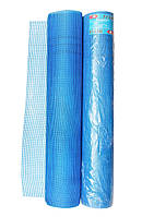 Сетка штукатурная Rubin 50 м, ячейка 5 х 5 мм, 145 гр м² синяя