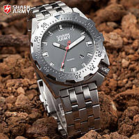 Мужские часы Shark Army Marine Corps стальные