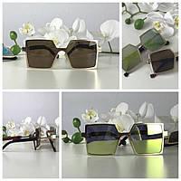 Необычные очки-оверсайз геометричной формы