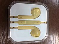 - Гарнитура Apple EarPods with 3.5 mm Headphone Plug (MD827) (HC, no box, gold)