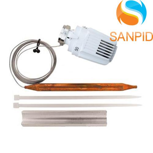 Термостатическая головка Herz с накладным датчиком 20–50 °С