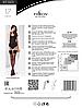 Черные чулки Passion ST001 nero размер 3/4, фото 2
