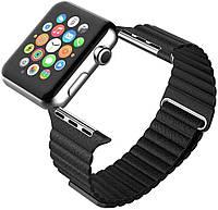ArmorStandart Ремешок для спортивных часов Apple Leather Loop Band for Apple Watch 42mm Black