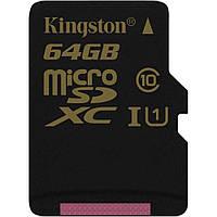 Kingston 64 GB microSDXC class 10 UHS-I SDCA10/64GBSP (300808)