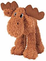 Игрушка Trixie Elk для собак плюшевая, лось с пищалкой, 23 см