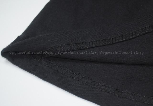 Чёрная детская мягкая футболка для мальчиков