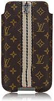 прочее Чехол Case Louis Vuitton Monogram Brown iPhone 4/3GS (A01)