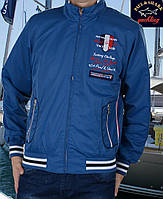 Куртка мужская спортивная весна-осень.Размер М .Ветровка Paul Shark -098 синяя