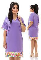 Платье женское батал 749 Далас, фото 1