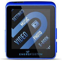 EnergySistem Плеер EnergySistem MP4 Energy Player Sport 2504 4GB Power Blue (FM, Sport Earphones, Armband)