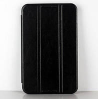 - Чехол Lenovo A3500 Leather Case Black