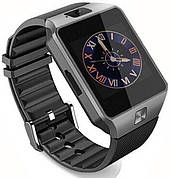 Часы Smart Watch DZ09 Black Gsm/Bluetooth/камера