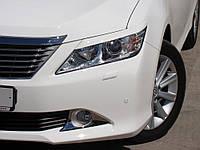 Реснички на фары Toyota Camry 2013+