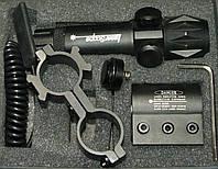 Лазерный целеуказатель LASER SCOPE с зеленой точкой, с креплением 21 мм и подствольным