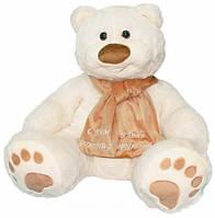Мягкая игрушка Тигрес Медведь Мемедик 80 см, белый (ВЕ-0077)